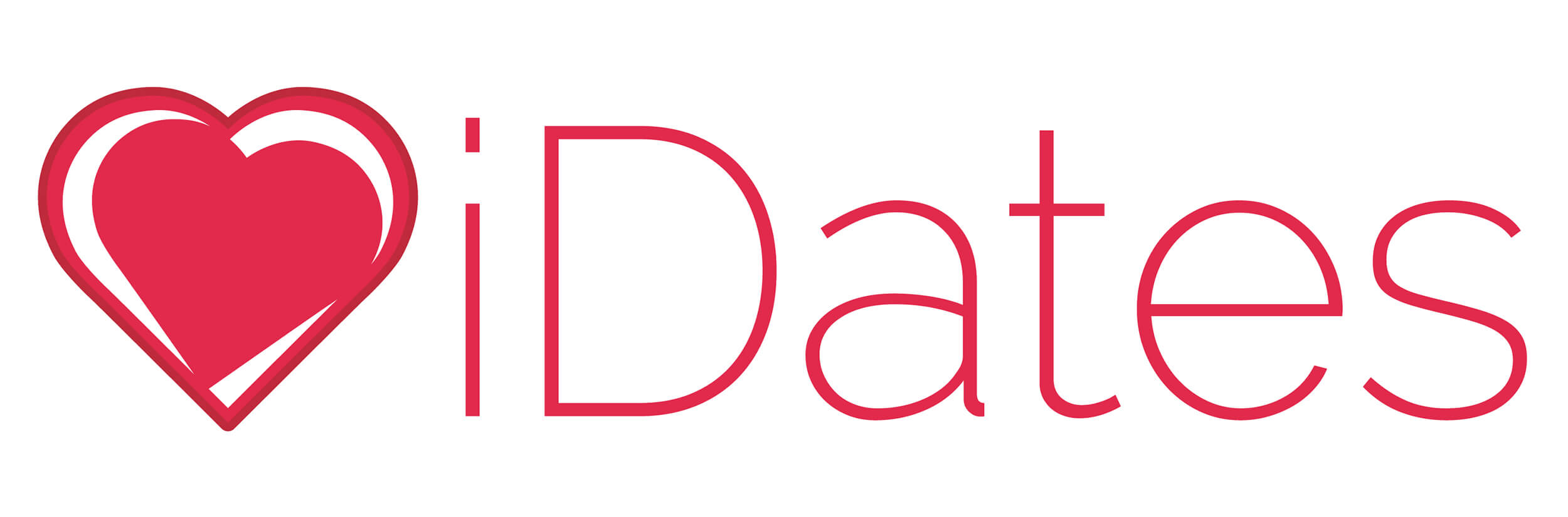 iDates home, Online Dating Site, Company Name Logo