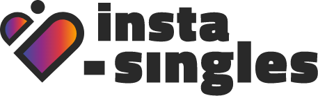 Insta-Singles home, Online Dating Site, Company Name Logo